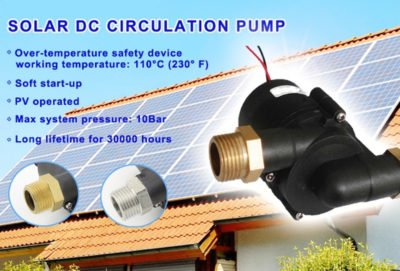 S5 Solar Hot Water Pump
