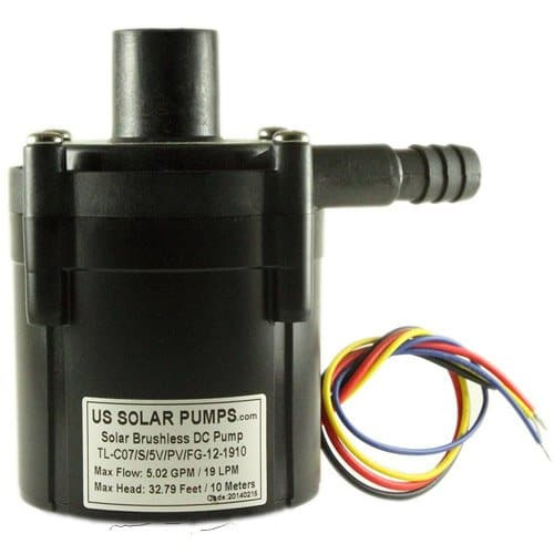 C7 12V 19L Micro DC Pump