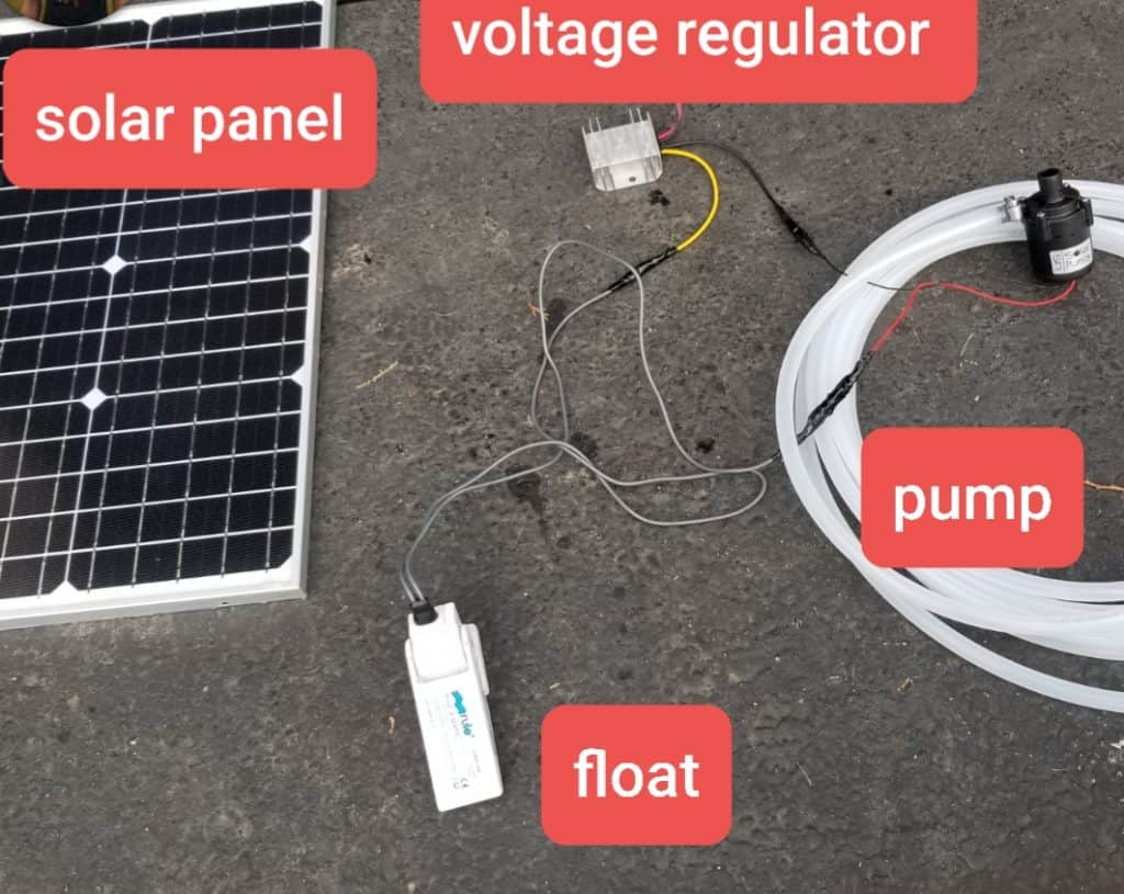 solar panel and pump problems